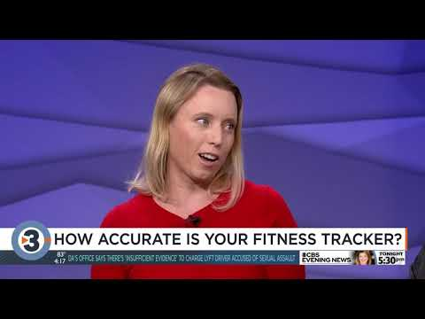 Professor explains accuracy of fitness trackers