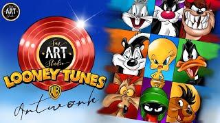 Looney Tunes Digital Painting