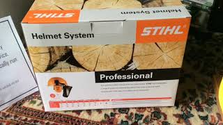 Stihl Professional Helmet Kit Unboxing