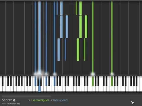 World of Warcraft-Arthas my son (Piano)