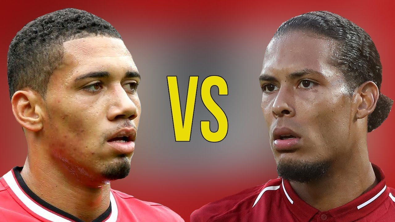 Van Dijk Vs Chris Smalling Who Is The Best Defender Amazing