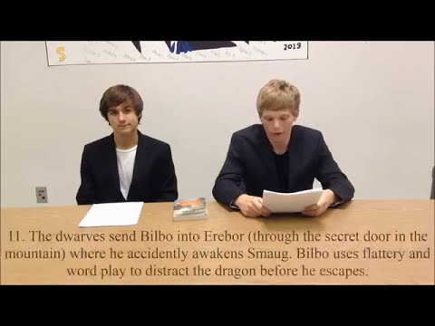 the-hobbit:-analysis-newscast-(high-school-project)