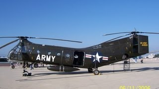 Helicopter Flight Piasecki (Vertol) H-21B Shawnee