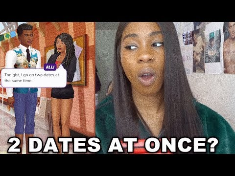 TWO DATES AT ONCE? | THE KISS LIST - YouTube