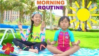 Atlantis Morning Routine