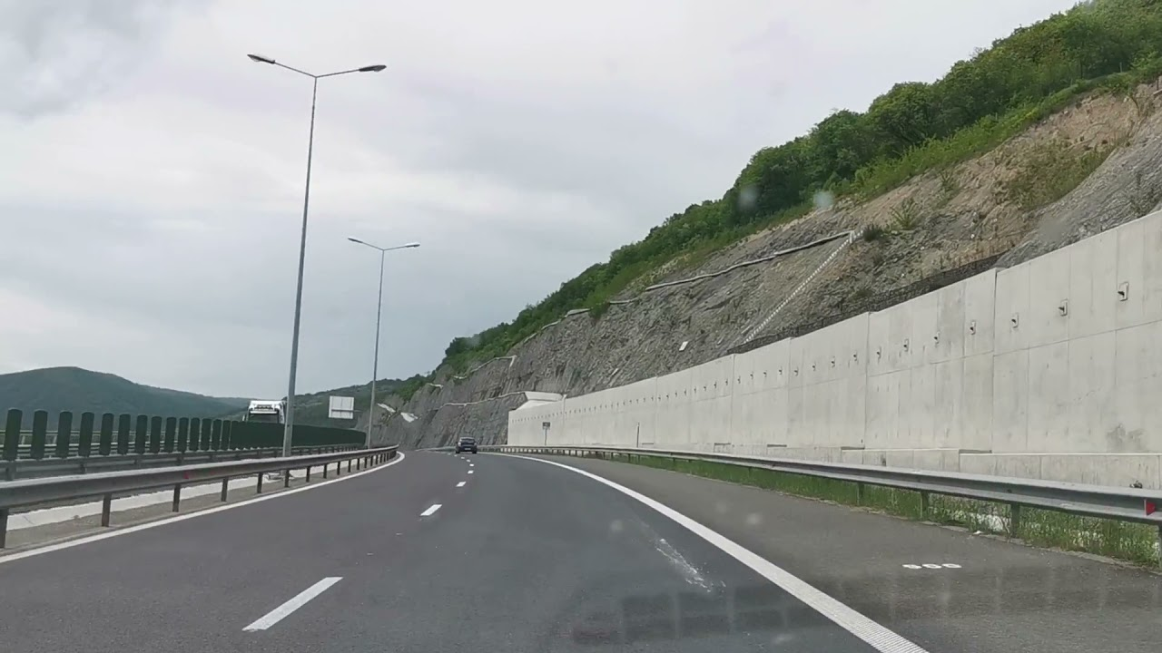 Download Autostrada Lugoj - Deva, nod rutier Soimus, urcare pe Dealul Liliecilor