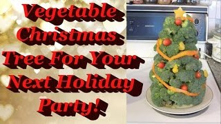 Holiday Vegetable Tray!
