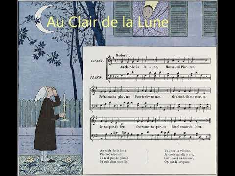 Au Clair de la Lune Lully