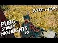 Battlegrounds Stream Highlights #3 - MESCAR - PUBG WTF + TOP (Playerunknown's Battlegrounds в 1440)