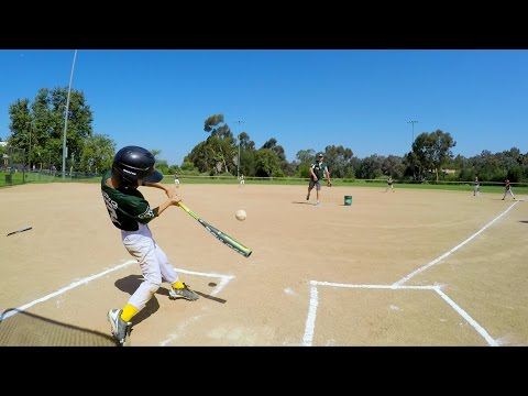 GoPro Baseball: The Pinto A's Play Ball