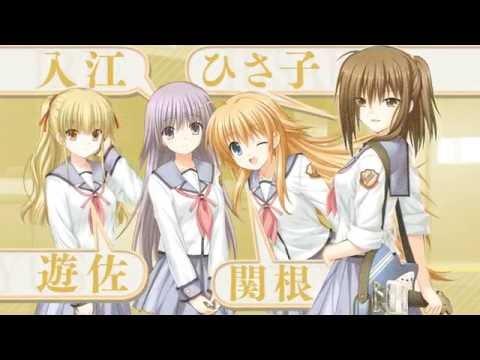 Angel Beats!  1st Beat  Visual Novel Opening