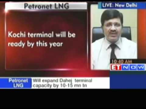 Petronet LNG - Gains in trade on news of falling KG D6 gas o