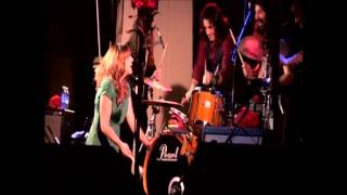 "Grace Potter n Nocturnals-drum circle"" on ""Nothing but the Water""- 8 22 2009"