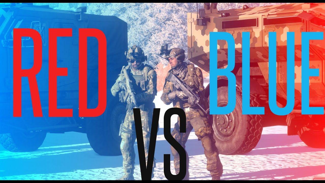 Red Versus Blue: Rifles - ArmA 3 Guide (1) - OperatorDrewski