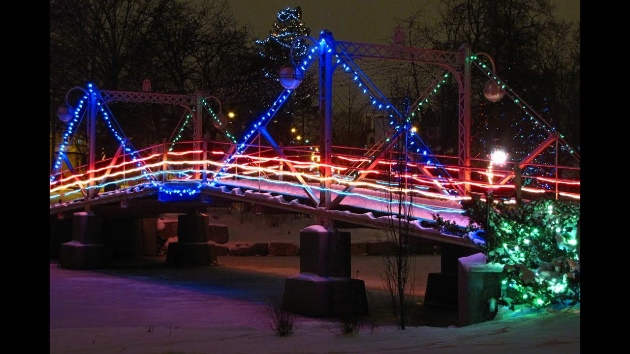 Victoria Park Kitchener Christmas Lights