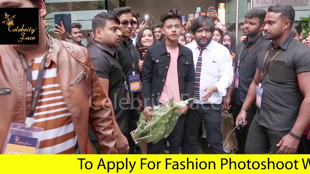 TikTok Star Riyaz First Event with Celebrity Face in Kolkata
