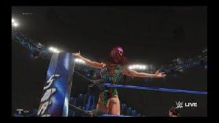 WWE 2K19 kelly kelly carmella ivory and lana vs Eva marie Zelina vega and absolution