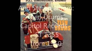 Les Baxter & His Drums - Boomada (Capitol Records 4374)