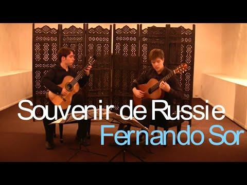 Sor 'Souvenir de Russie'