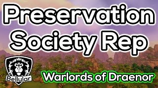 Steamwheedle Preservation Society Reputation Guide - Warlords of Draenor