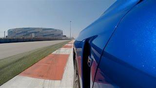 Тест Lexus RC F и GS F на сочинском автодроме