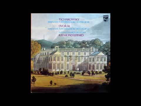 Tchaikovsky / Dvorak: Serenade for Strings / Raymond Leppard, English Chamber Orch.