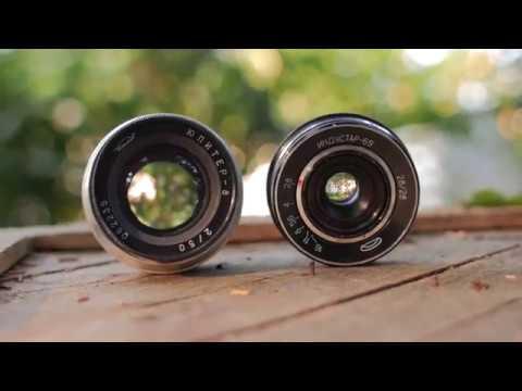 Industar-69 and Jupiter-8 Vintage Russian Lenses Test Footage