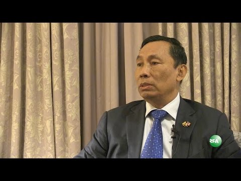 RFA Interview with House Speaker Thura U Shwe Mann