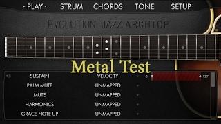 Evolution Jazz Archtop - Metal TEST