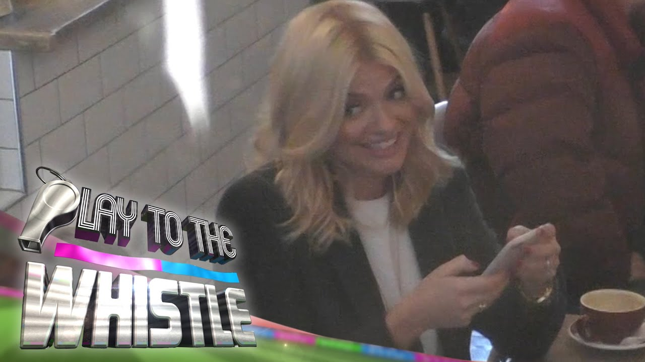 Holly Willoughby Asks Couple to Forge Phillip Schofield's Signature   Play to the Whistle