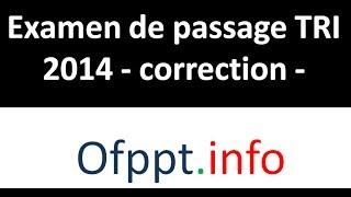 Commandes de base Linux - Ep59 - Corrigée examen de passage TRI 2014