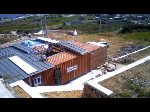 연아건축//경남 고성 컨테이너 하우스 (움직�