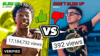 0 VIEWS SONGS THAT BLEW UP vs. ONES THAT DIDN'T !