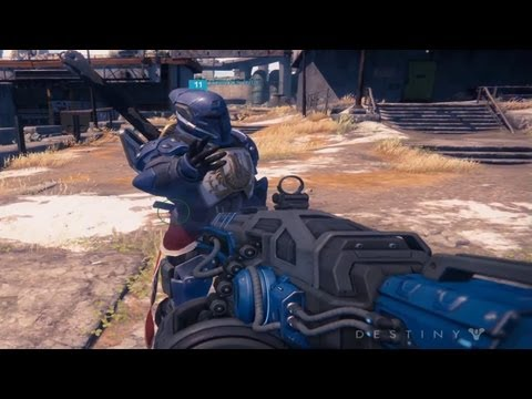 Destiny PS4 Gameplay Trailer | Bungie Commentary on Destiny Demo 【E3 2013 1080p HD】