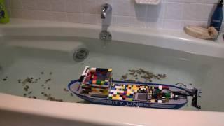 RC Lego Cargo Ship
