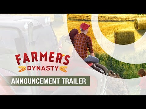 Farmer's Dynasty   Announcement Trailer (Gamescom 2019)