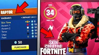 CUSTOMIZE SKINS KOSTENLOS IN FORTNITE! BATTLE PASS SKINS 4 Fortnite UPDATE