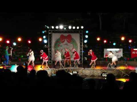 高松高校ダンス部⑦ 高松冬のまつり2016.12.22