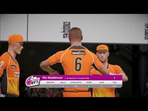 Don Bradman Cricket 17 :: Perth Scorchers vs Sydney Sixers Big Bash League Final
