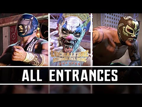 Lucha Libre AAA: Héroes del Ring I All Entrances