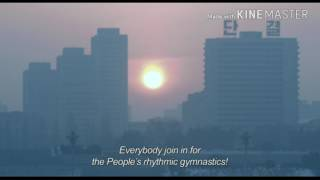 Утро в Северной Корее // Документальные кадры // В лучах Солнца