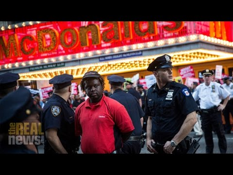 100+ Arrested As Fast-Food Workers Escalate 'The Fight For $15'