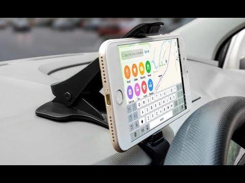Универсальный держатель для телефона на козырек приборной панели авто