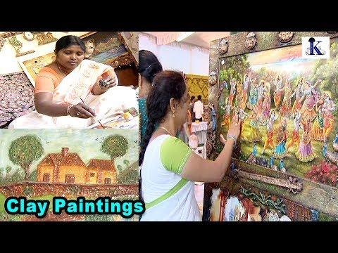 Clay Paintings