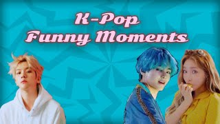 K-POP FUNNY MOMENTS | PT. 1