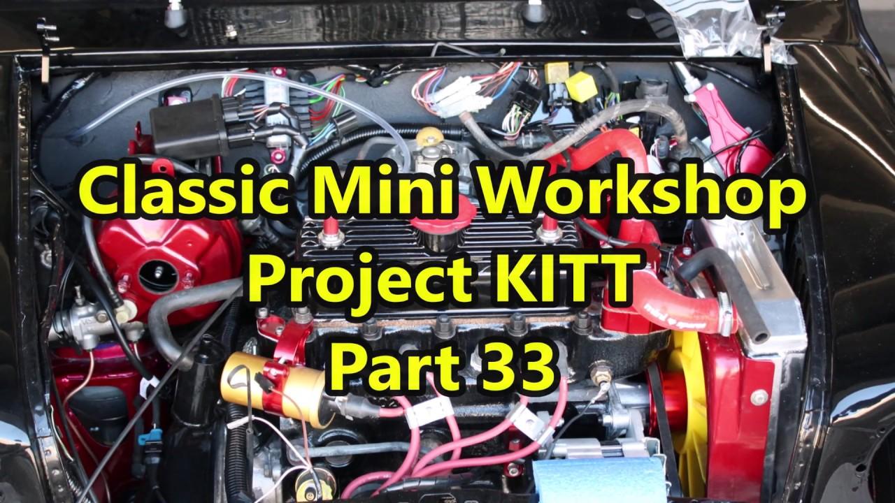 classic mini workshop project kitt pt 33 wiring loom central locking [ 1280 x 720 Pixel ]