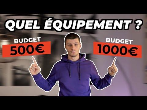 Quel équipement moto avec un budget de 500€ et 1000€ ?