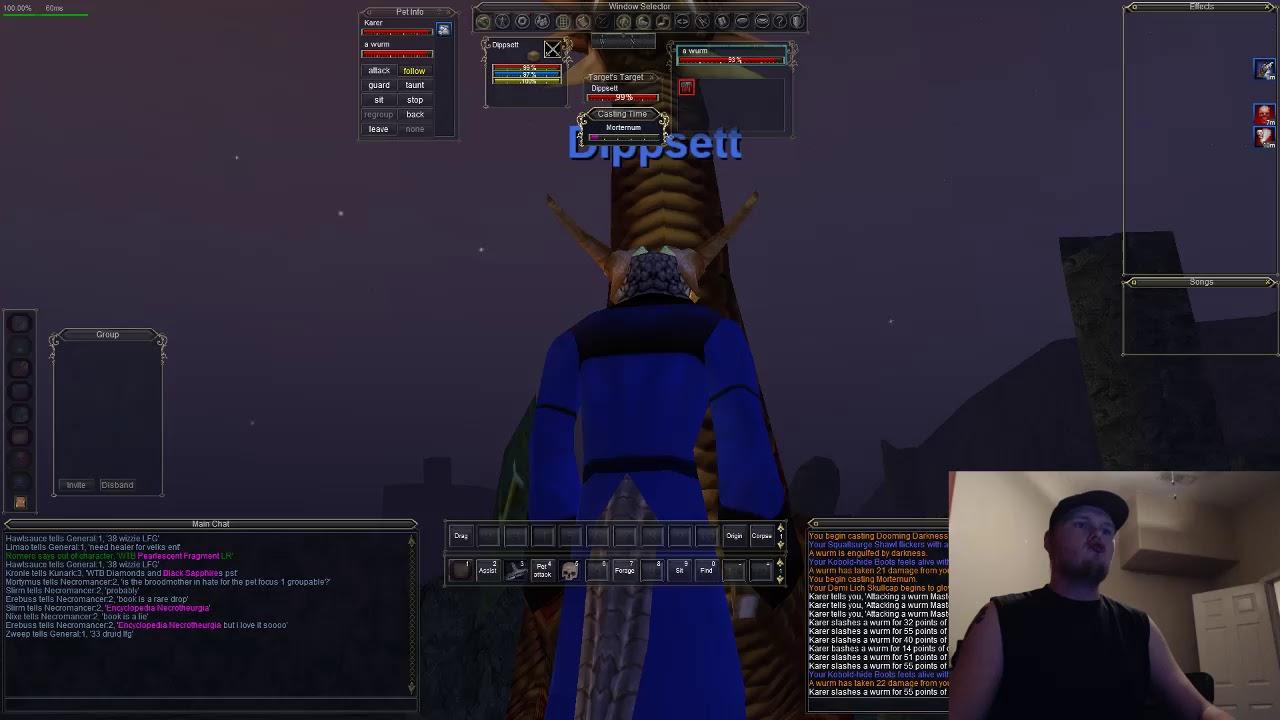 Everquest Necromancer - Solo Skyfire - Agnarr Server