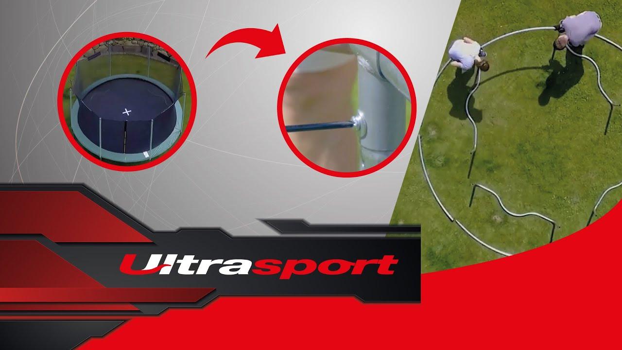 Ultrasport Unisex Ultrasport Kids Indoor Trampoline Jumper ,