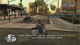 GTA San Andreas Burger Shot courier missions